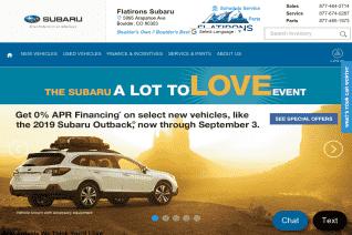Flatirons Subaru reviews and complaints