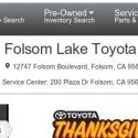 Folsom Lake Toyota