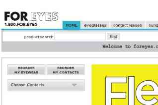 FOR EYES reviews and complaints