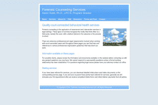 Forensic Counseling Services of Texas reviews and complaints