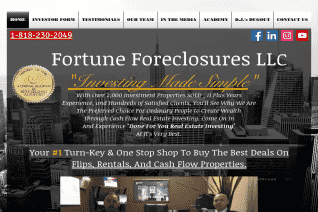 Fortune Foreclosures reviews and complaints