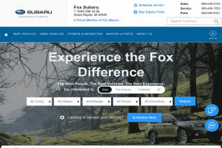 Fox Subaru reviews and complaints