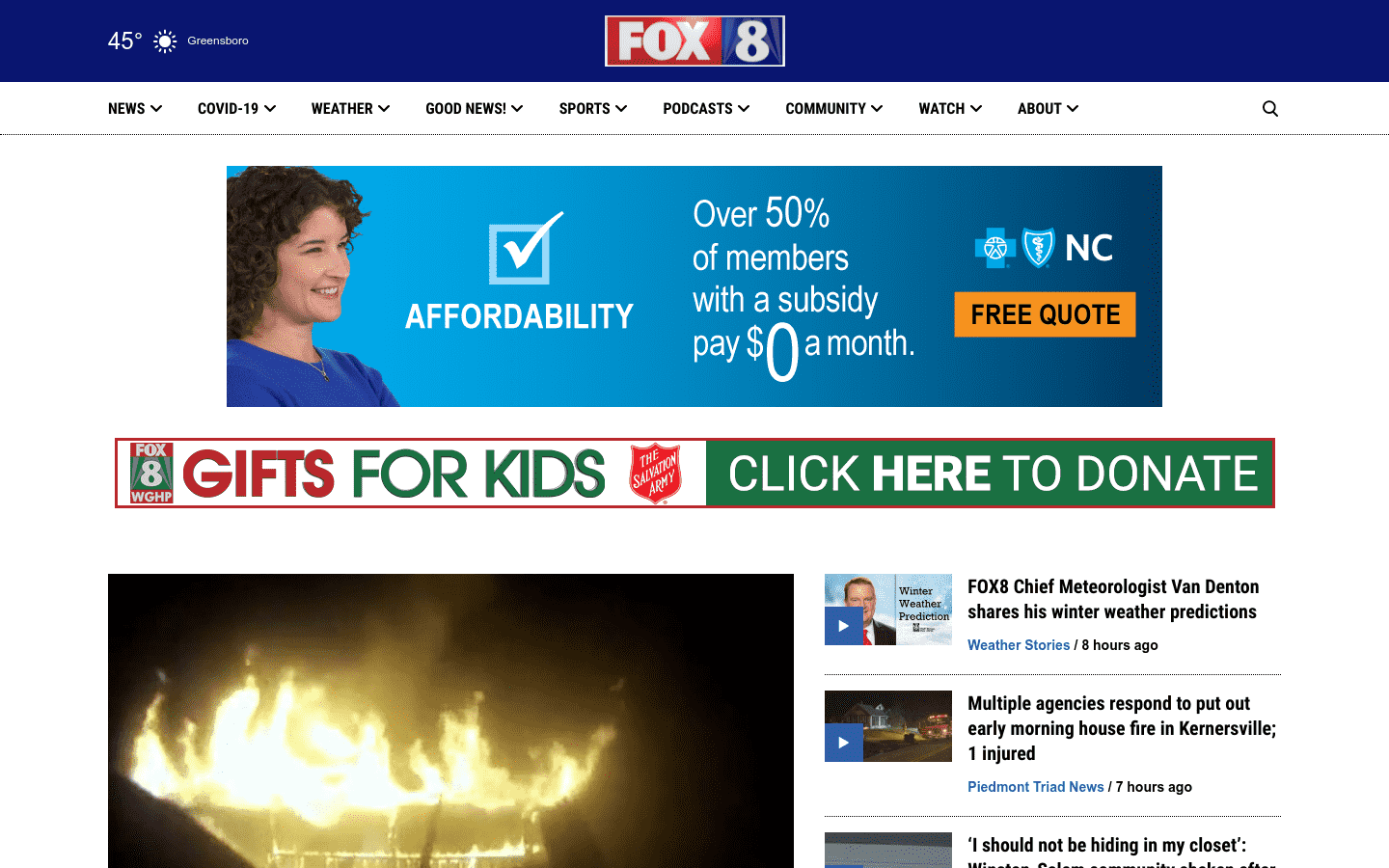 Fox8 Wghp reviews and complaints