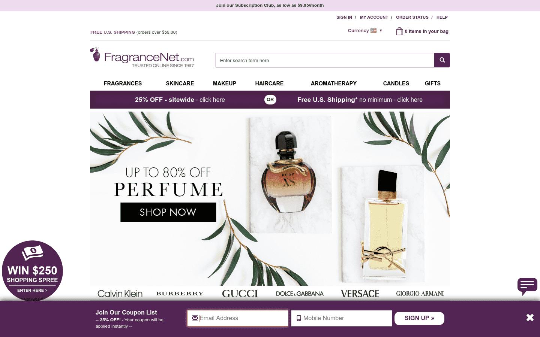 Fragrancenet reviews and complaints