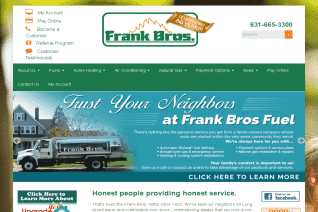 Frank Bros Fuel reviews and complaints