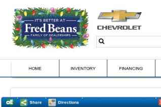 Fred Beans Chevrolet reviews and complaints