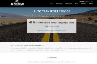 Freedom Auto Transport reviews and complaints