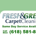 Fresh and Green Carpet Cleaners reviews and complaints