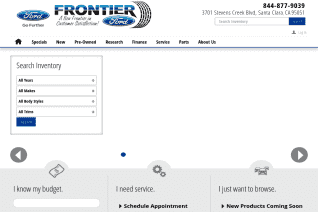 Frontier Ford reviews and complaints