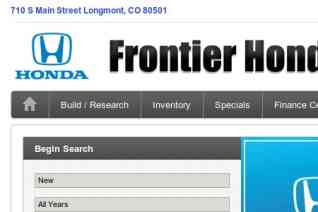 Frontier Honda reviews and complaints