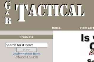 G and R Tactical reviews and complaints