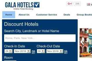 Galahotels reviews and complaints