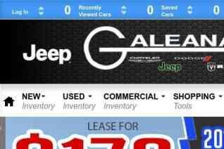 Galeana Chrysler Dodge Jeep Ram reviews and complaints
