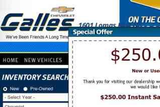 Galles Chevrolet reviews and complaints