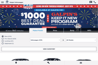 Galpin Volkswagen reviews and complaints