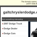 Galt Chrysler Dodge reviews and complaints