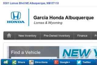 Garcia Honda Albuquerque reviews and complaints