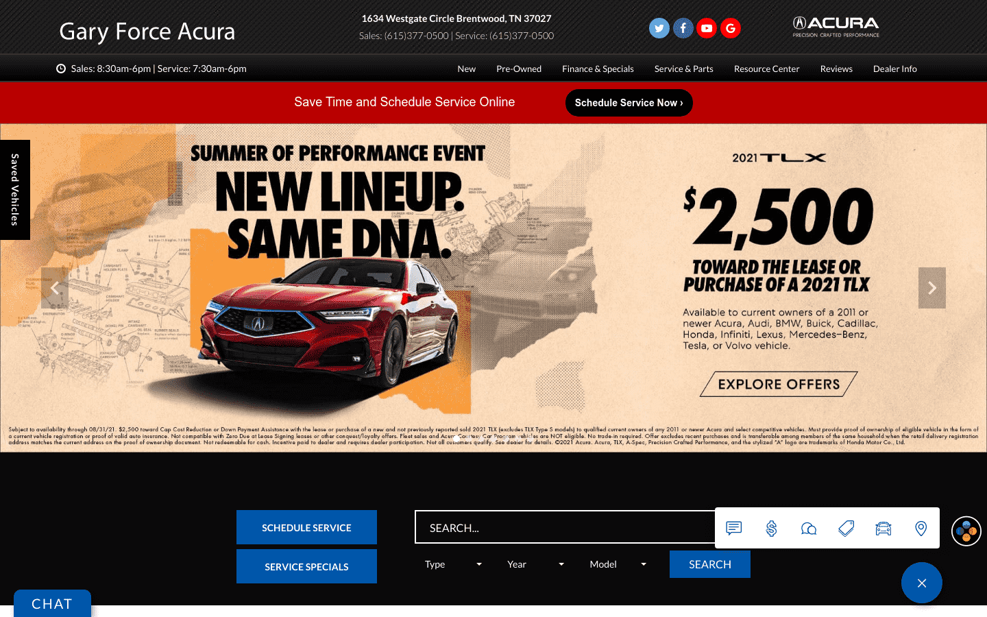 Gary Force Acura reviews and complaints