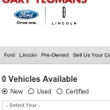 Gary Yeomans Ford reviews and complaints