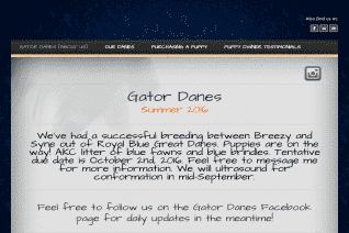 Gator Danes reviews and complaints