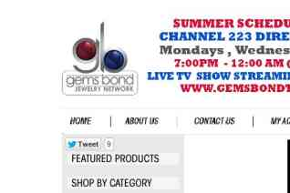 Gems Bond Jewelry Network reviews and complaints