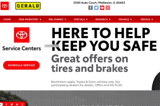 Gerald Toyota of Matteson reviews and complaints