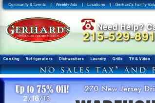Gerhards Appliances reviews and complaints