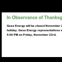 Gexa Energy reviews and complaints