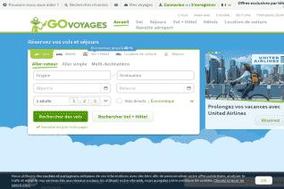 Go Voyages reviews and complaints