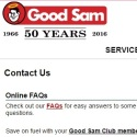 Good Sam Club reviews and complaints