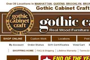 Gothic Cabinet Craft reviews and complaints