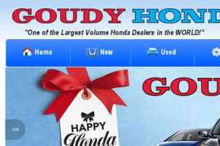 Goudy Honda reviews and complaints