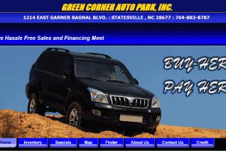 Green Corner Auto Park reviews and complaints