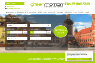 Green Motion Poland reviews and complaints