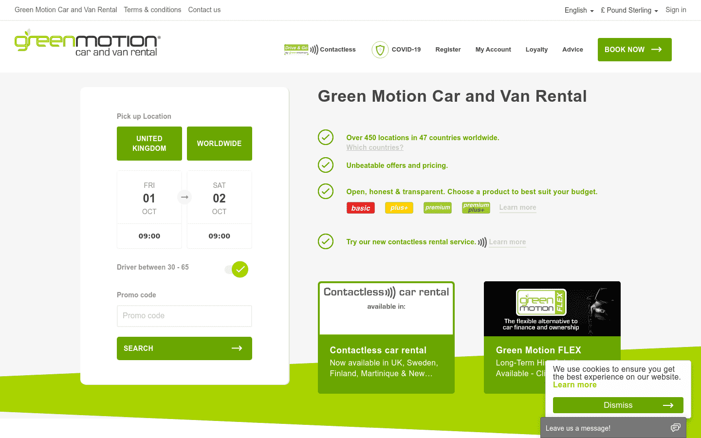 Green Motion United Kingdom reviews and complaints