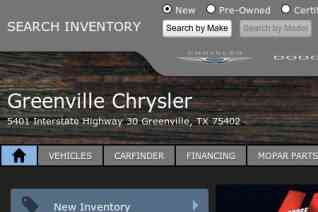 Greenville Chrysler reviews and complaints