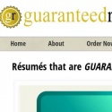 GuaranteedResumes  Guaranteed Resumes