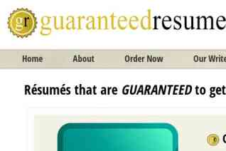GuaranteedResumes reviews and complaints
