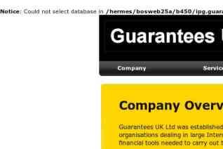 Guarantees UK Ltd reviews and complaints
