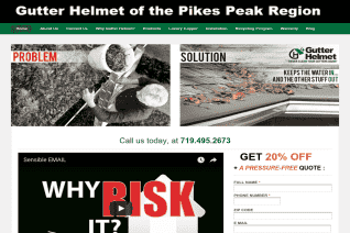 Gutter Helmet Of The Pikes Peak Region reviews and complaints