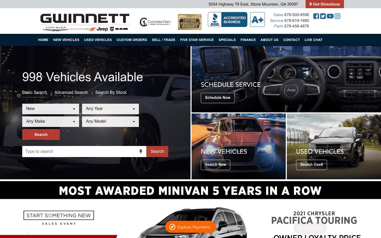 Gwinnett Chrysler Dodge Jeep Ram reviews and complaints