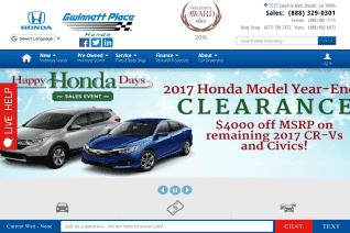 Gwinnett Place Honda reviews and complaints