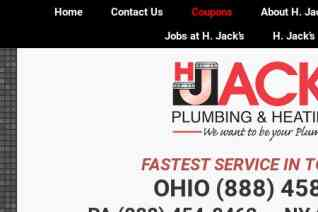 H Jacks Plumbing And Heating reviews and complaints