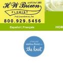 H W Brown Florist