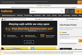 Halfords reviews and complaints