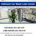 Hallmark Car Wash Lube Center