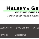 Halsey And Griffith Office Supplies reviews and complaints