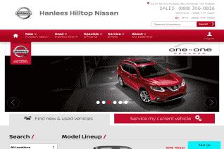Hanlees Hilltop Nissan reviews and complaints