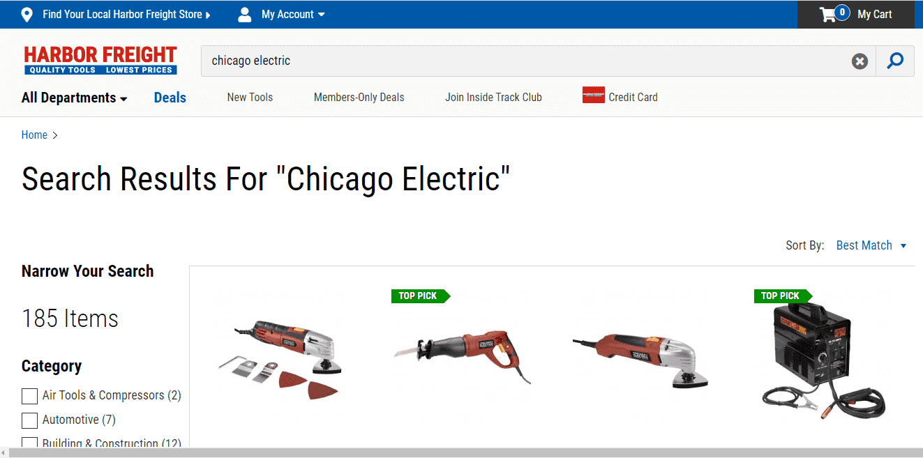 Harbor Freight Tools reviews and complaints