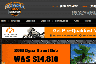 Harley Davidson Of Pensacola reviews and complaints